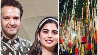 ईशा अंबानी की शादी के लिए दुल्हन की तरह सजा 'एंटीलिया', 700 करोड़ है शादी का बजट!