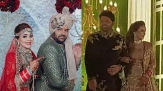 Kapil Sharma-Ginni Chatrath Look Like a Match Made in Heaven at Their Wedding Reception, See First Pics