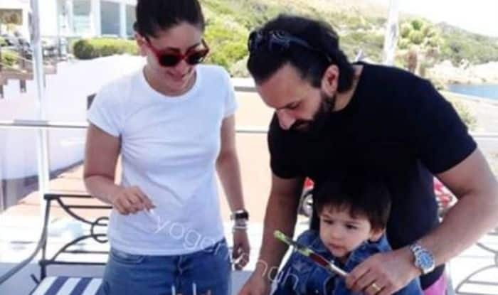 Taimur Ali Khan Cuts His Birthday Cake Along With Saif Ali Khan And Kareena Kapoor Khan in Cape Town, See Adorable Pictures