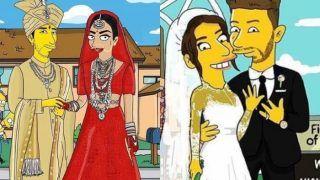 PICS: प्रियंका-निक 'द सिम्पसन्स' फैमिली का हिस्सा बने, लोगों ने कहा- पीसी का रंग बदल रहा है