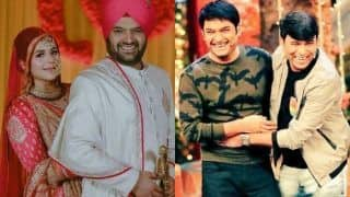Kapil Sharma-Ginni Chatrath's Wedding Reception: Bharti Singh And Chandan Prabhakar Dancing to Punjabi Songs Will Give You Tera Yaar Hoon Main Feels