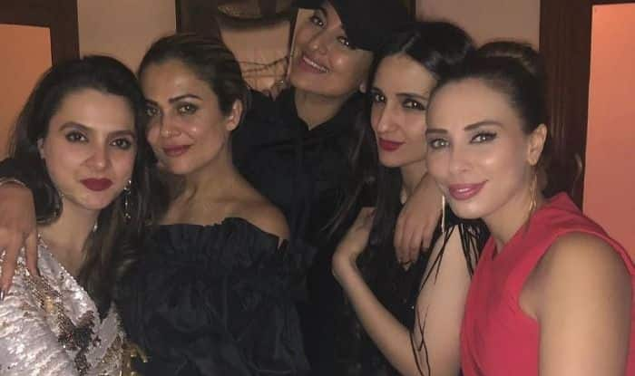 Salman Khan's Girlfriend Iulia Vantur Shares Pics From Christmas Party, Poses Alongside Sonakshi Sinha And Bobby Deol; Check Post