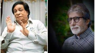 Amitabh Bachchan Prays For Kader Khan's Speedy Recovery, Veteran Actor's Health Still Critical