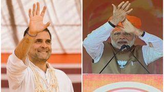 5 राज्यों के चुनाव में राहुल गांधी ने 82 और पीएम मोदी ने की 32 रैलियां