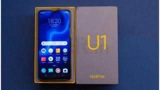 amazon और realme की साइट पर Realme U1 की सेल शुरू