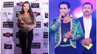 Bhojpuri Film Award 2018: आम्रपाली दुबे को मिला बेस्ट एक्ट्रेस का अवार्ड तो निरहुआ बने बेस्ट एक्टर