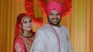 Kapil Sharma-Ginni Chatrath Wedding New Picture Out: Newlyweds Look Radiant And Happy as They Strike a Pose in Traditional Outfits