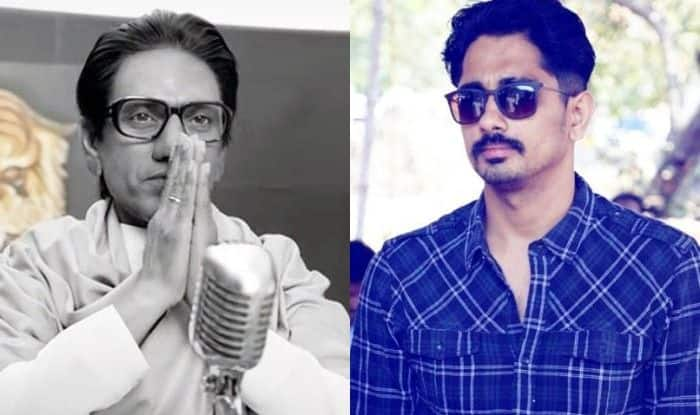 Tamil Actor Siddharth Attacks Nawazuddin Siddiqui's Thackeray Trailer For Hate Speech Against South Indians
