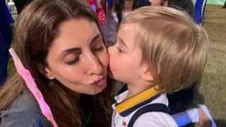 Shweta Bachchan Shares an Adorable Picture of Karan Johar's Son Yash Johar Giving Her a Peck on Her Cheeks