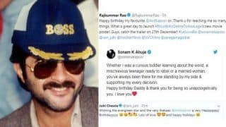 Happy Birthday Anil Kapoor: Sonam Kapoor, Arjun Kapoor, Rajkummar Rao, Juhi Chawla, Anupam Kher Pour in Their Birthday Wishes on Twitter