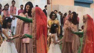 Isha Ambani-Anand Piramal Pre-Wedding Video: Aaradhya Bachchan Dances With Rajasthani Folk Dancer as Mommy Aishwarya Rai Bachchan Watches in Awe