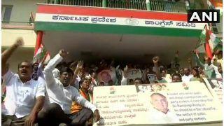 कर्नाटक में मंत्रिमंडल विस्तार आज, रामलिंगा रेड्डी को मंत्री बनाने की मांग कर रहे समर्थकों का प्रदर्शन