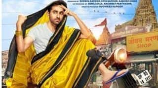 Dream Girl First Poster Out: Ayushmann Khurrana Looks Confused in a Saree