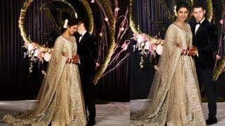 Priyanka Chopra - Nick Jonas Reception: Prime Minister Narendra Modi Attends Ceremony, Shares a Good Laugh With Newlyweds; Watch