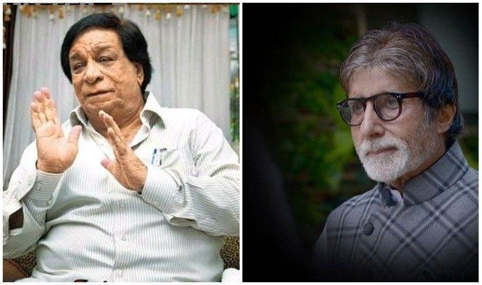 कादर खान के निधन की खबर सुनते ही रो पड़े अमिताभ बच्चन, सेलेब्रिटीज ने दी श्रद्धांजलि
