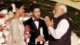 Priyanka-Nick ने दिल्ली में दिया ग्रैंड रिसेप्शन, पीएम मोदी ने पहुंचकर न्यूली मैरिड कपल को दिया आशीर्वाद