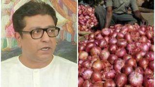नासिक में किसानों को राज ठाकरे की सलाह, मंत्री नहीं सुनते हैं तो उन पर प्याज फेंको
