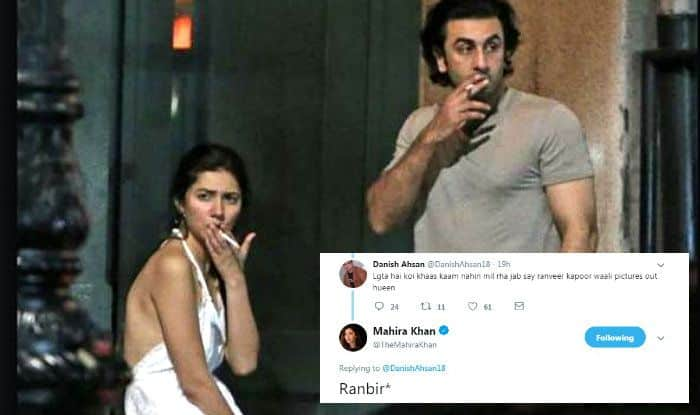 Mahira Khan trolled again for her old pics with Ranbir Kapoor, hits back at trollers with an epic reply