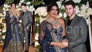 Priyanka Nick Reception: प्रियंका-निक ने मुंबई में रखी वेडिंग रिसेप्शन पार्टी, झुकी-झुकी सी नज़र...बेकरार दिखी