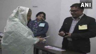 बांग्लादेश: संसदीय चुनाव के लिए वोटिंग जारी, क्या चौथी बार PM बनेंगी हसीना?