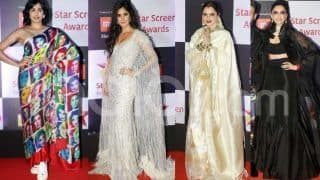 Star Screen Awards 2018 Red Carpet Photos: Deepika Padukone, Katrina Kaif, Alia Bhatt, Rekha And Others Own Their Looks