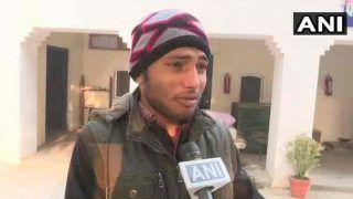 गाजीपुर में मारे गए सिपाही के बेटे ने कहा- पुलिस अपनी सुरक्षा नहीं कर पा रही, हम मुआवजा लेकर क्या करेंगे?