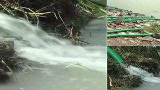 HIV संक्रमित महिला ने झील में की थी सुसाइड, गांव के लोग लेक का पानी निकालने में जुटे