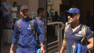 2nd ODI India vs Australia: MS Dhoni, Rohit Sharma And Virat Kohli-Led Team India Arrive at Adelaide | PICS