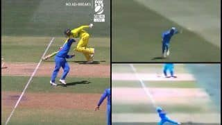 2nd ODI India vs Australia Adelaide: Ravindra Jadeja Sends Usman Khawaja Packing With A Brilliant Runout | WATCH
