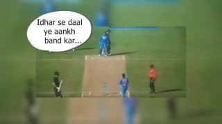 1st ODI India vs New Zealand: How MS Dhoni's Convo With Kuldeep Yadav Helped Trap Trent Boult, Twitter Applauds Former Captain | WATCH