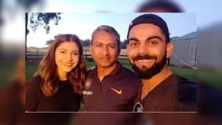 2nd ODI India vs Australia: Virat Kohli, Anushka Sharma Connect With Sanjay Bangar After Adelaide Win in a Perfect Frame | PIC