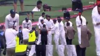 India vs Australia 4th Test Sydney: Virat Kohli, Cheteshwar Pujara and Team India do a Victory Dance to Celebrate Historic 2-1 Win | WATCH
