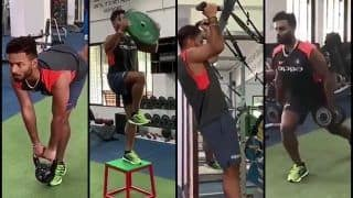 Rishabh Pant Gives Fitness Goals as he Sweats it in a Gym After Successful Australian Tour | WATCH
