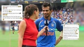 Yuzvendra Chahal Posts Picture With Female Anchor After Career-Best Figures at MCG in 3rd ODI vs Australia, Twitter Cannot Stop Laughing | PIC