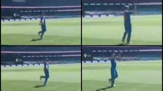 India vs Australia 1st ODI: Shikhar Dhawan Enthralls Fans With Impromptu Bhangra Dance at SCG | WATCH