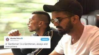 Mumbai Police Trolls Hardik Pandya, KL Rahul With A Gentleman Tweet After Cricketer's Suspension For Misogynistic Comments | PIC