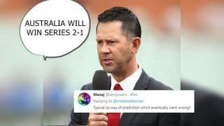 India vs Australia 4th Sydney: Ricky Ponting Gets Trolled After His Prediction Usman Khawaja Will Score More Than Virat Kohli And Australia Will Win Series 2-1 Doesn't Come True