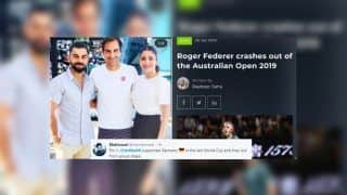 Australian Open 2019: Fans Blame Virat Kohli-Anushka Sharma For Roger Federer's Shock Exit Against