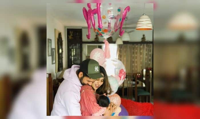 Rohit Sharma reveals name of baby girl