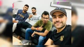 2nd ODI India vs Australia: Rashid Khan Enjoys Cup of Tea With Virat Kohli-Led Team India Members Yuzvendra Chahal, Khaleel Ahmed And Mohammed Siraj | PIC
