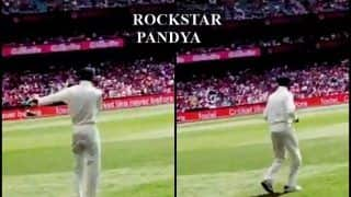 India vs Australia 4th Test Sydney: Hardik Pandya Dances For Fans at SCG As Rain, Bad Light Halts Play | WATCH