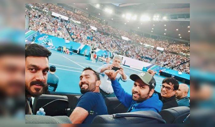 Rohit, Karthik at Australian Open