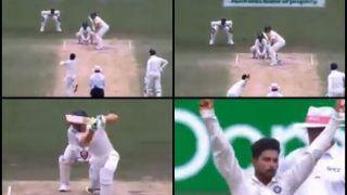 India vs Australia 4th Test Sydney: Kuldeep Yadav Bamboozles Australian Captain Tim Paine With a Dream Delivery | WATCH