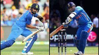 1st ODI India vs New Zealand: Virat Kohli Could Break Two Records of Virender Sehwag