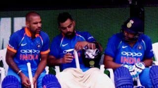 3rd ODI India vs Australia Melbourne: Virat Kohli, Rohit Sharma, Shikhar Dhawan in The Dugout Picture is Trending, Here's Why | PIC