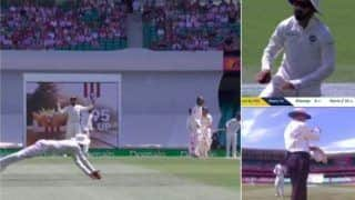 India vs Australia 4th Test Sydney: KL Rahul Takes a Superb Catch of Marcus Harris, Says it Was Not Out is Something Umpire Ian Gould Applauds Cricketer's Honesty | WATCH