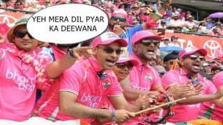 India vs Australia 4th Test Sydney: 'Yeh Mera Dil, Pyar Ka Deewana' Bhara Army Add Bollywood Spice in Pink Test at SCG | WATCH