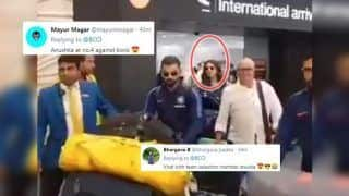 Anushka Sharma Gets TROLLED as Virat Kohli-Led Team India Arrive in Auckland For New Zealand ODIs, Here's Why | WATCH