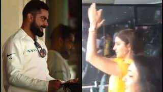 India vs Australia 4th Test Sydney: Anushka Sharma Cheers For Virat Kohli-Led India After Kuldeep Yadav's Five-Wicket Haul Bundles Australia For 300 | WATCH