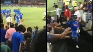 MS Dhoni Gesture For Fans by Shaking Hands And Waving After India Beat Australia in 2nd ODI at Adelaide Will Melt Your Heart | WATCH